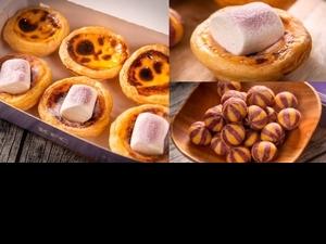 芋頭+棉花糖太誘人!肯德基「芋見雲朵蛋撻、雙色轉轉QQ球」2款夢幻甜點上市,芋泥控排隊也要吃