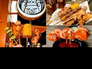 信義區戶外串燒店「有Bear而來」推薦!3大串燒套餐「你是我的菜、肉慾少年」超吸睛,配上獨門醬料排隊也要吃