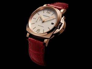 沛納海Goldtech™紅金魅力 優雅設計時髦戴!