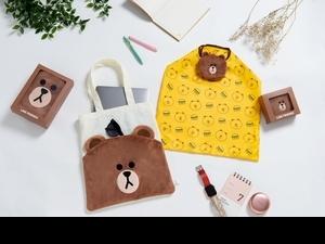 麥當勞x LINE FRIENDS超萌超實用「熊大雙層帆布包、熊大摺疊手提袋」限量開賣!