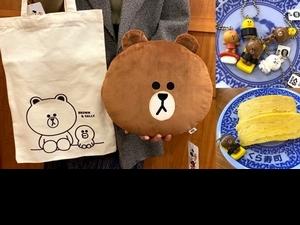 藏壽司X LINE FRIENDS限定扭蛋療癒登場!必收 「玉子燒熊大、鮮蝦兔兔、4款紙膠帶」加碼集點送熊大抱枕