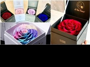 玫瑰界愛馬仕+珠寶盒太夢幻!FLOWER FLOWER花的X小王子聯名情人節花禮,獻上最純粹的愛情