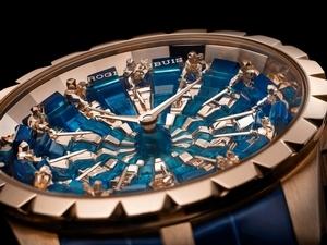 全球唯一!Roger Dubuis王者系列圓桌騎士限量腕錶展台北101亮相