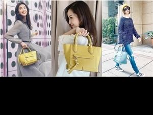 究竟是多大魅力!徐若瑄、侯佩岑、隋棠拎Longchamp新包,2021春旅就要這時髦味