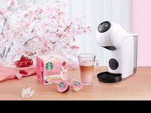絕對不能錯過春季限定!星巴克「櫻花草莓風味拿鐵膠囊」在家就能享受櫻花季