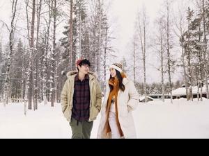Angelababy揪李鴻其赴芬蘭談雪地戀! 自我吐槽:「誰會叫Baby啊?」