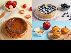 PABLO限量推出超夯新口味「草莓巴斯克起司蛋糕」 同場加映春季限定新品「藍莓起司塔、焦糖蘋果迷你塔」