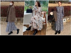 不只甜美還更帥氣!韓國歐膩的連身裙穿搭祕密,靠「這配件」時髦度大翻倍