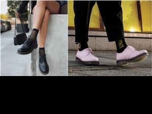帥女孩最愛的馬汀1461經典三孔鞋換新衣!薄荷綠、少女粉色系繽紛又俏皮