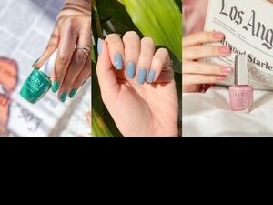 2021美甲控必搜色!指尖關鍵色選,就要奶油玫瑰、亮麗黃與淺灰藍,是春日指尖的絕佳點綴!