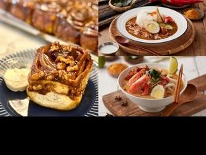 布魯克林小餐館最夯肉桂捲每日限量供應! 南洋風新菜色「檳城叻沙海鮮麵」道地濃郁湯頭老饕必吃!