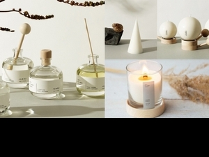 森林系香氛品牌 Hetkinen,也太療癒了,尤其《幸福蠟燭系列》的圓形「小確幸地球」與三角「幸福樹」,一次感受北歐森林氣味