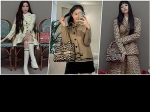 好美!DIOR小公主 JISOO智秀的秋季搭配必學,不只時髦還多了點女人味