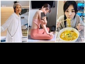 女星宅在家出奇招!ELLA拼廚藝、LULU藝術照創作大受網友好評
