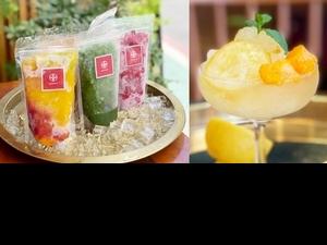 東門人氣日式刨冰店金雞母「宅刨冰」買十送一!玫瑰覆盆子荔枝、黃檸檬、芒果5種口味,在家DIY冰沙調酒最消暑
