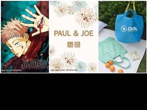UNIQLO全新《咒術迴戰》、《PAUL & JOE》、《動森》UT系列讓人款款都想買,開賣日期、售價一次整理