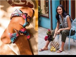 夏天就是要穿人字拖!Havaianas繽紛印花+編織綁帶 美麗再進化