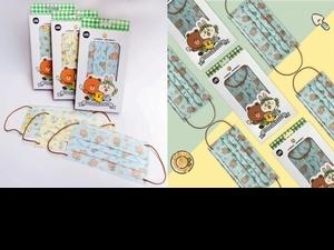 LINE FRIENDS 3款超萌手繪風口罩  跟熊大、兔兔、莎莉一起享受田園生活!