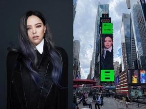 張惠妹霸氣登紐約時代廣場巨幕!支持女性音樂人為平權發聲