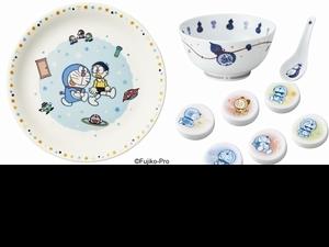 哆啦A夢50週年聯名餐具組必收藏!3大系列重現哆啦A夢、大雄的漫畫日常,即日起預購享優惠