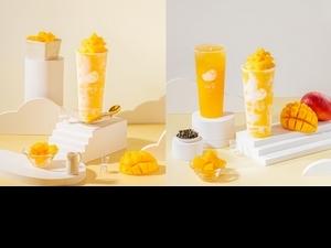 療癒系手搖「呦窩」2款夏日限定芒果新品  半價就可以喝到!