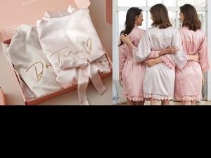 女孩夢寐以求的質感睡衣「Here's To Love」絕美蕾絲+粉嫩冰淇淋色!還能客製化燙印,即使WFH也要穿得美美的