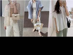 一穿就降溫了!日本女孩4種夏日消暑搭配,清爽又時髦