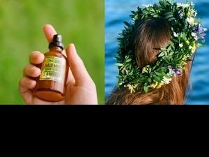 七種花朵香揉和成浪漫的仲夏夜髮香噴霧,在炎熱的高溫下,頭髮能香香的,也不怕紫外線的傷害!