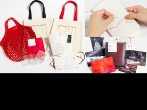 《塩田千春:顫動的靈魂》台灣限定周邊線上開賣!繡線筆記本、刺繡帆布袋11款獨家商品,文青必收藏