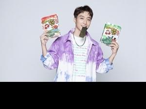 卞慶華吃海苔吃成品牌大使!升格「國際卞」