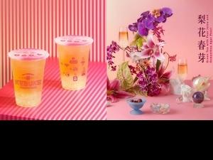 七夕情人節就喝這杯!可不可新品「梨花春芽」 用foodpanda享買一送一優惠!