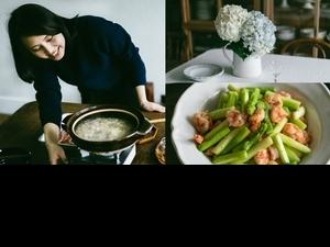 覓覓古董餐桌創辦人「昉小姐」的消暑食譜推薦!蘆筍炒甜蝦、竹筍干貝雞湯2道風味菜,讓料理成為美好日常