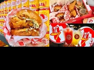 一週只賣3天!「週末炸雞俱樂部」聯名台北人氣酒吧推出「超潮鞋盒+調酒炸雞堡」罪惡販售中