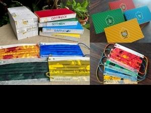 你是葛來分多還是史萊哲林? 哈利波特第二波親子口罩4個學院一次收藏   這天開賣快筆記!