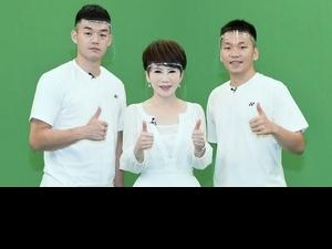 麟洋配《新聞高峰會》合體!陳雅琳問未來比賽運勢擲出「聖筊」