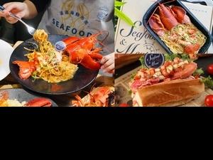 波士頓龍蝦2隻只要999元「波波海鮮市集」推出獨家龍蝦食譜、代客料理服務,在家就能大啖新鮮海產