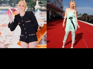 「暮光女」克莉絲汀史都華穿香奈兒露美腿!私下這一幕可愛POSE超級圈粉