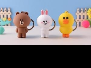 熊大、兔兔、莎莉變身超萌一卡通!聯名BROWN & FRIENDS打造3款立體造型「這天」限時發售