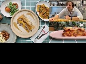 英國名廚新餐廳「Fermi」主打義式家常料理!起司漢堡千層麵、無花果起司餃、花型提拉米蘇必吃推薦