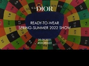2022巴黎春夏時裝周│DIOR 2022 時裝大秀9/12零時差直播