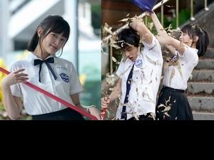 王淨放話穿遍台灣女高中生校服!《比悲傷》暴打范少勳宛如「小全智賢」