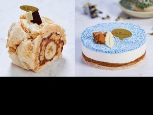 新加坡甜點名店「The Patissier」暢銷冠軍款「蝶豆花西米露蛋糕、香蕉巧克力蛋白霜蛋糕」在台開賣,線上預購享優惠