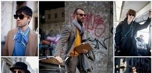 從米蘭秋冬男裝週街拍偷學 10 種秋冬時尚穿搭術