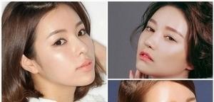 公開!這樣妝出韓國潮模的發光、超亮頻閃底妝