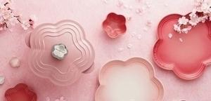 餐桌上的花見時光,LE CREUSET四月新品上市