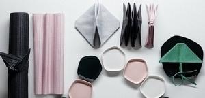 Iittala × Issey Miyake 聯名創作傢飾織品系列