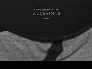 一起當最 Rocker 的時髦情侶!AllSaints 推出全球台灣限定情侶 T 恤