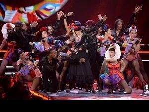 瑪丹娜台北演唱會造型提前曝光