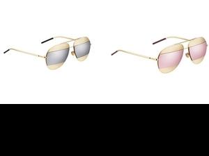 未來感十足又不失優雅態度!今夏戴著DIORSPLIT 太陽眼鏡時髦出遊