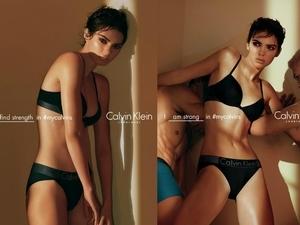 Calvin Klein內衣廣告 名模Kendall Jenner演繹高端美感